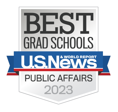 U.S. News & World Report - Best Grad Schools in public management and administration 2020
