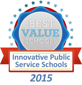 Best Value Schools - Innovative Public Service Schools 2015